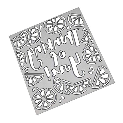 Cutting Dies,IHGTZS 2019 Father's Day DIY Photo Album Metal Die-Cut Stencils For Scrapbooking Paper Card Gift for father New Flower Heart Metal Cutting Dies Stencils Scrapbooking Album Paper Card