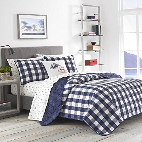 Eddie Bauer Lake House Plaid Bedding, Twin, Blue