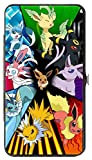 Pokemon Eevee Evolution Circle Hinged Wallet 4 x 7in