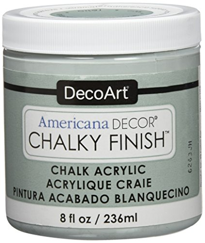 - DecoArt ADC-17 Americana Chalky Finish Paint, 8-Ounce, Vintage