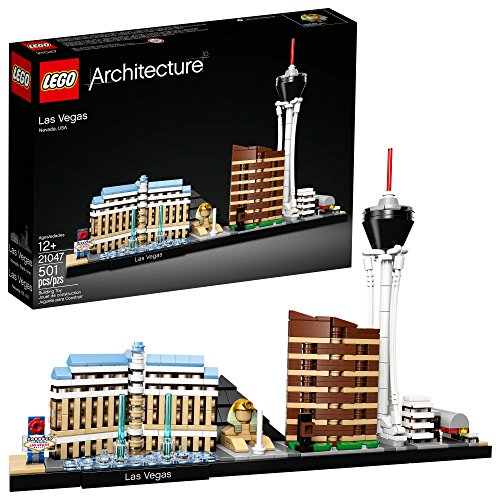LEGO Architecture Skyline Collection Las Vegas Building Kit 21047 (487 Pieces) (Lego Architecture Building Set)