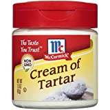 McCormick Cream Of Tartar, Essential Baking Ingredient, 1.5 oz
