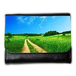 le portefeuille de grands luxe femmes avec beaucoup de compartiments // M00314403 Sendero Camino rural Camino Verde // Medium Size Wallet