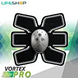LifeShop VortexPRO Transform Complete Workout Electro Abdominal 6 Pack Trainer with Controller