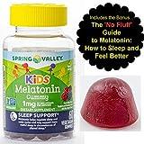 Melatonin for Kids Gummies (1mg) 60 ct from Spring Valley with Bonus - Handy Melatonin Guide