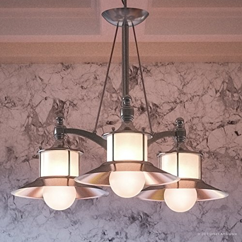 Luxury Nautical Chandelier, Medium Size: 22