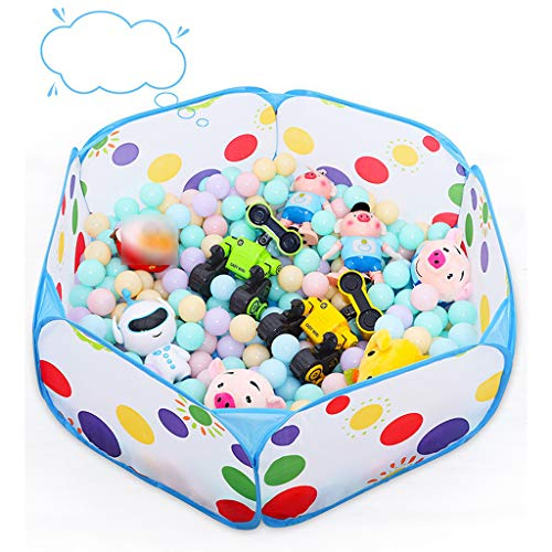 Gbell Toddler Ball Pit Playpen Pop Up Play - Zipper Storage