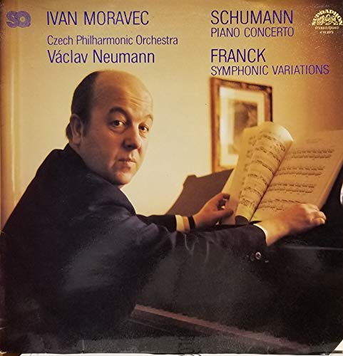 Ivan Moravec and The Czech Philharmonic Orchestra directed by Vaclav Neuman plays Schuman Piano Concerto and Franck Symphonic Variations (1977 Czech Vinyl Record) (Cesar Franck Symphonic Variations For Piano And Orchestra)