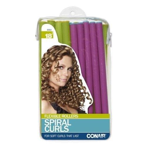 Conair Styling Essentials Spiral Rollers Set 18 Each