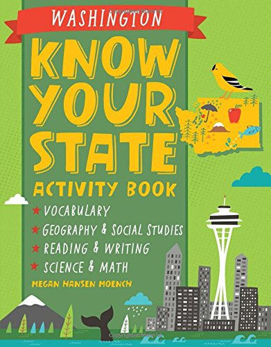 Know Your State Activity Book Washington