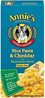 product image for Annie's Homegrown Gluten-Free Rice Pasta & Cheddar Mac & Cheese 6-Ounce (Pack of 3)