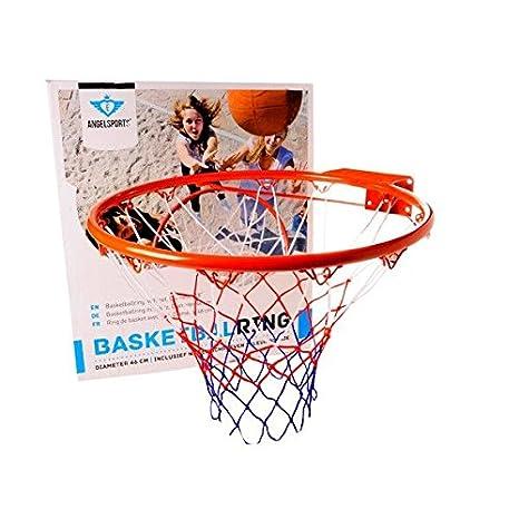 Unbekannt Angel Sports Baloncesto Cesta 46cm Anillo de Baloncesto con Red 724006