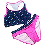 Yamed Girls Bathing Suits Biquini Infantil Swimwear Two Pieces Bathing Suit for Children Bikini Set