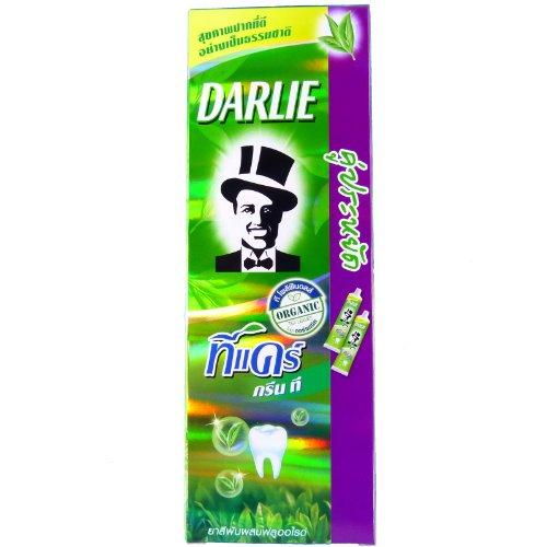 2 x Darlie Tea Care Longjing Green Tea Extract Fluoride Toothpaste 160 - Green Toothpaste Tea