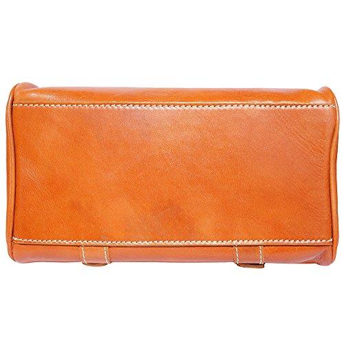 Cuoio Mano In Market Bauletto Leather 6539 Tamponato A Florence Vacchetta Cqz4nw