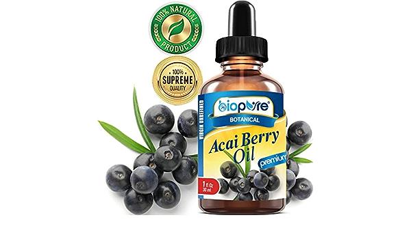 Acai BERRY - Aceite puro 100% puro para crowthththbrasileño ...