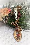 Gingerbread Teaspoon Christmas Holiday Ornament