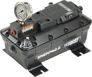 ENERPAC bomba de pacg-5002sb Turbo II, 5000 SAE, W/calibre, W/soporte: Amazon.es: Amazon.es