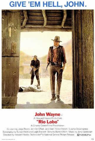 Amazon.com: Rio Lobo Movie Poster (27 x 40 Inches - 69cm x 102cm ...
