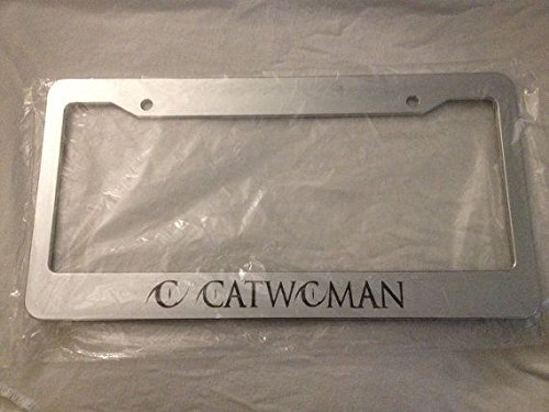 catwoman license plate frame - 1