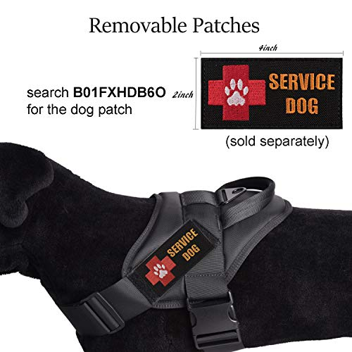yisibo-Service-Dog-Vest-Harness-No-Pull-Nylon-Tactical-Military-K9-Patrol-Training-Dog-Vest-with-Handle