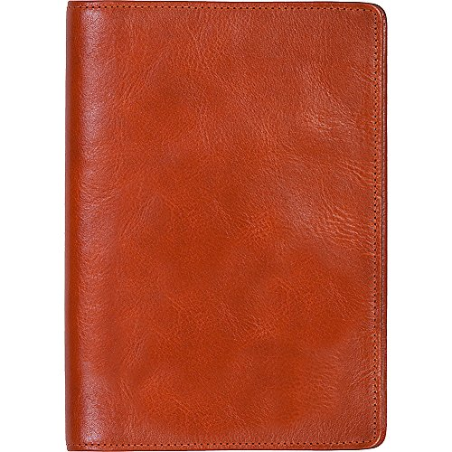 Scully Italian Leather Desk Size Weekly Planner (Sunset)