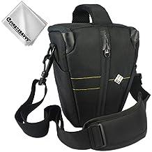First2savvv Neoprene Camera Case Bag for Nikon D7500.D7200.D7100.D7000.D750.D610.D500.D600.D90.D80.D70 (18-105 18-140 18-200 mm Lens) - QSL-SLRL-N