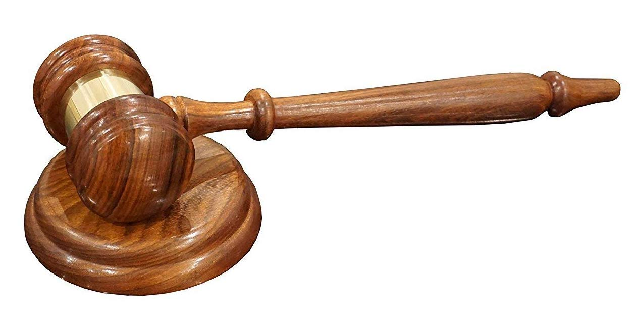 Justice Gavels Premium Quality Wood Gavel and Sound Block for Lawyers and Courtroom Judges by Justice Gavels