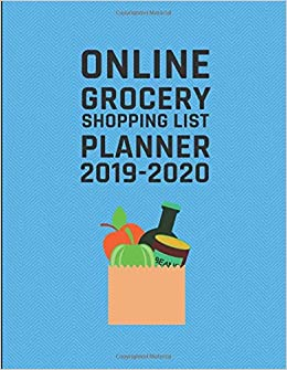 List Of 2020 Books.Online Grocery Shopping List Planner 2019 2020 Planb Planme
