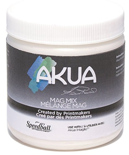 Akua Mag Mix for Intaglio Inks, 8 oz. Bottle (IIAO) by Akua