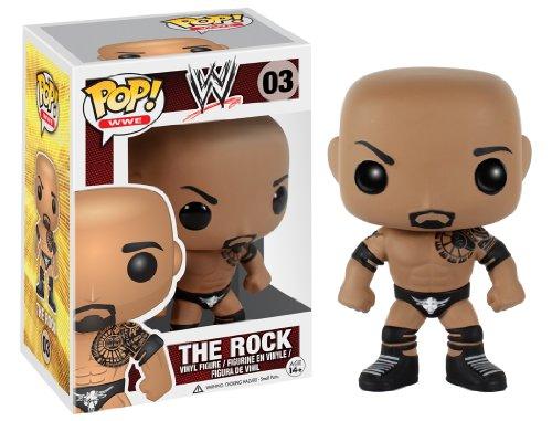 Funko POP WWE: The Rock Action Figure by FunKo