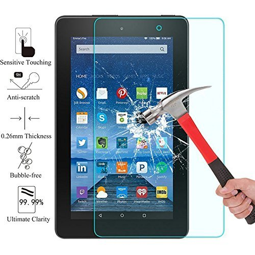 Tempered Glass Screen Protector For Amazon Kindle Fire HD7 - 4