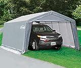 9. Shelter Giant 11020 Instant Garage, 10'x20', Grey