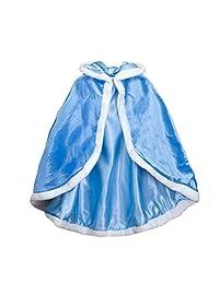 Genda 2Archer Baby Girls Long Cloak Winter Thicken Warm Cape Poncho Hoodie