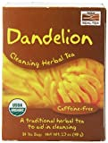 #3: NOW Organic Dandelion Cleansing Herbal Tea,24-Count