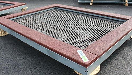 Trampolin 2000 Spielplatz Bodentrampolin zum Aufklappen