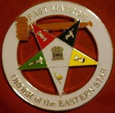 - Order of Eastern Star OES Past Matron Cut Out Car Emblem