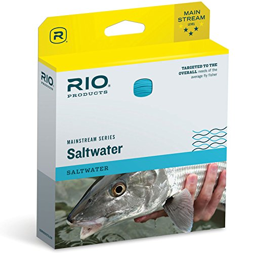 Cheap RIO Fly Fishing Fly Line Mainstream Saltwater Wf8F Fishing Line, Blue