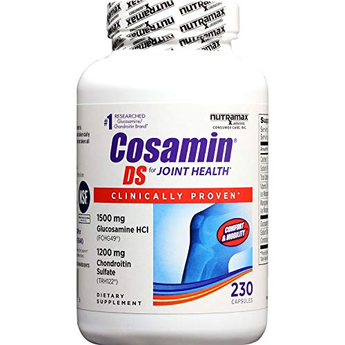Cosamin DS For Joint Health Comfort & Mobility, 108 Capsules ( Pack of 2) (Chondroitin Ds)
