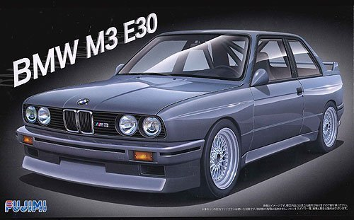Fujimi model 1/24 real sports car series No.17 BMW M3E30 type