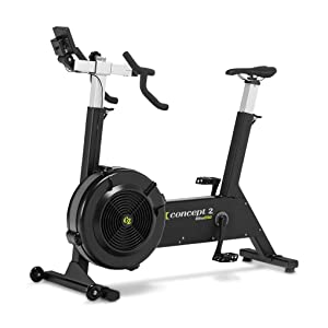 Concept2 BikeErg with PM5 Monitor, Stationary Exercise Bike with Adjustable Air Resistance