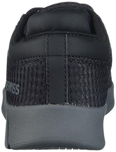 K-swiss Mens Aero Trainer T Sneaker Zwart / Donkergrijs