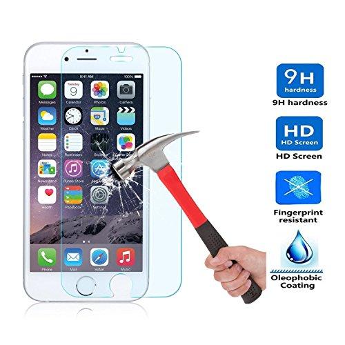Apple iPhone 5SE Displayschutzfolie, IVSO Apple iPhone 5se-ultra-thin 9H Härte Höchste Qualität HD Klar, & Premium Gehärtetem Glas Displayschutzfolie Für Apple iPhone 5SE Telefon (2)
