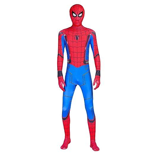 Spider-Man: Homecoming, Spiderman Cosplay Disfraz Adulto ...
