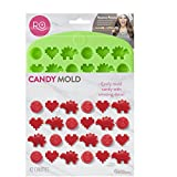 Best Silicone Mold For Candy Chocolates - Rosanna Pansino Nerdy Nummies Silicone Candy Mold, 42-Cavity Review