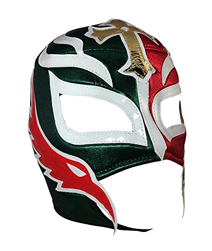 REY MYSTERIO Adult Lucha Libre Wrestling Mask (pro-fit) Costume Wear - Mexico -