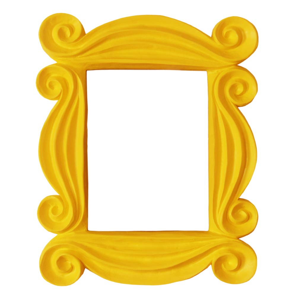ویکالا · خرید  اصل اورجینال · خرید از آمازون · IFUNEYS Peephole Frame, Like Monica's Door Frame,100% Handmade Yellow Door Frame Gift for Any Friends Fan wekala · ویکالا