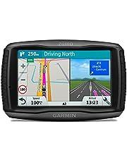 """Garmin Zumo 595LM EU - Navegador GPS con mapas por vida (pantalla de 5 """", mapa Europa completo), color negro"""