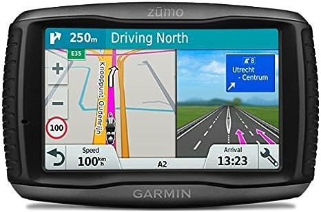 Garmin Zumo 595LM EU - Navegador GPS con mapas por vida (pantalla de 5