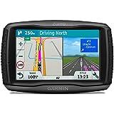 Garmin Zumo 595 LM - GPS Moto - 5 pouces - Cartes Europe 46 pays - Cartes, Trafic, Zones de Danger à Vie - Appels Mains Libres - Contrôle de la musique